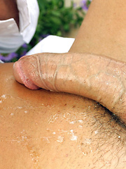 Marcello gets so horny at a picnic and makes his own salad cream sauce