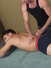 After massage suck my cock