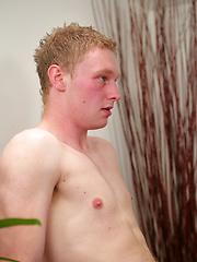 New Straight Blond Pup Shane Wilson Jumps Straight into his First Manhandling!