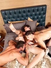 Kurtis Wolfe, Lance Alexander & Roman Todd threesome