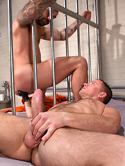 Club Inferno Dungeon – Long Arm Of The Law Part 2 (Scene 3). Drew Sebastian and Max Cameron.
