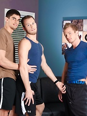 Best in the Biz. Tyler Torro, Kyle Quinn and James Huntsman.