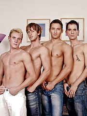 Six Cock Orgy
