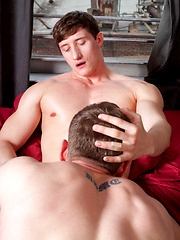 Lance Alexander and Adam Hardy trade hot nude photos