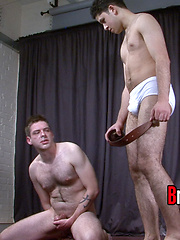 Sadistic school bully Master Charlie  humiliates sub Elliott like never before.