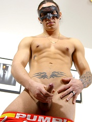 Young Kosta (a 21 year old) came to Maskurbate expecting his first porn shoot to be difficult and intimidating.