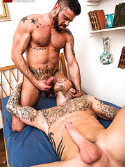 Mario Domenech Gives His Ass To Dylan James