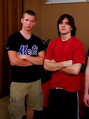 Brett, Cj and Rocco