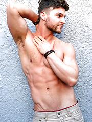 Sexy Stripper Rob BURRY Solo Jerk OFF