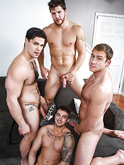 Dad Group Part 3. Connor Maguire, Aspen , Ashton McKay and Jake Ashford