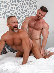 Audition: Dirk Caber 'auditions' Liam Knox with his ass!